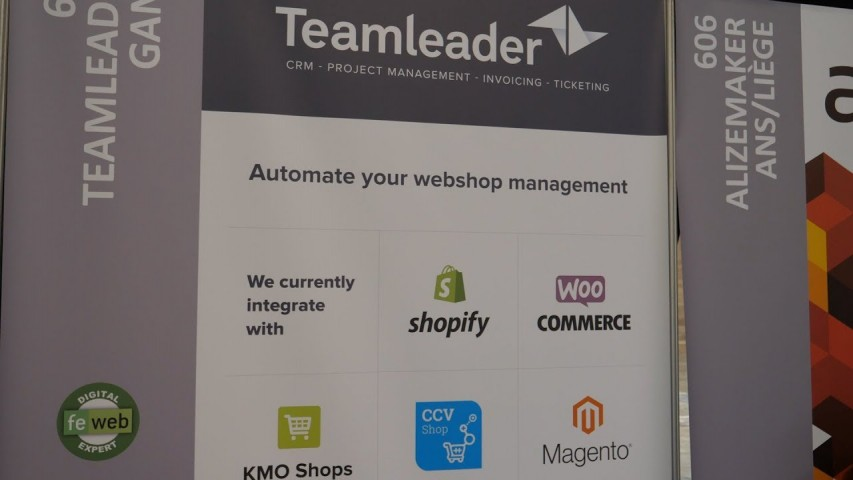 Interview Teamleader – E-Commerce Xpo Luik 2018