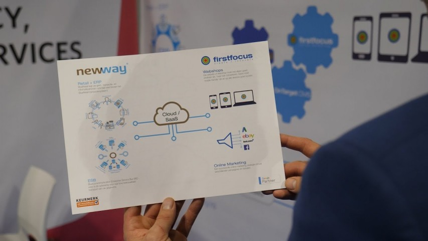 Interview FirstFocus / Newway – E-Commerce Xpo Kortrijk 2018 (video)